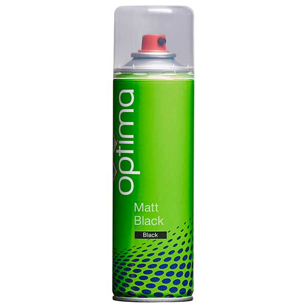 Optima Matt Black Aerosol (300ml)