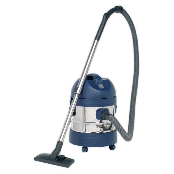Sealey PC200SD110V Vacuum Cleaner Industrial Wet/Dry 20ltr 1250W/110V