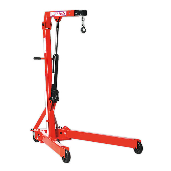 Sealey PH10 Folding Engine Crane Yankee 1ton