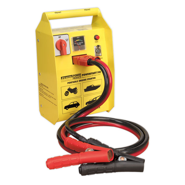 Sealey POWERSTART200 PowerStart Emergency Power Pack 200hp Start 12V