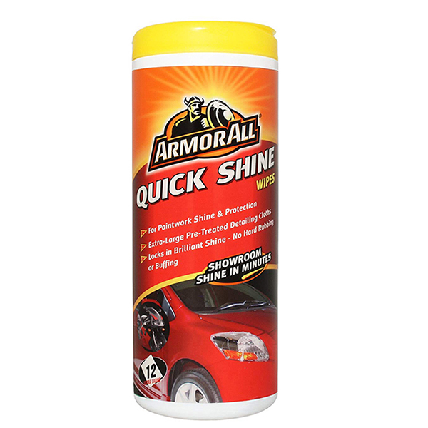 Armorall AA QUICK SHINE WIPES