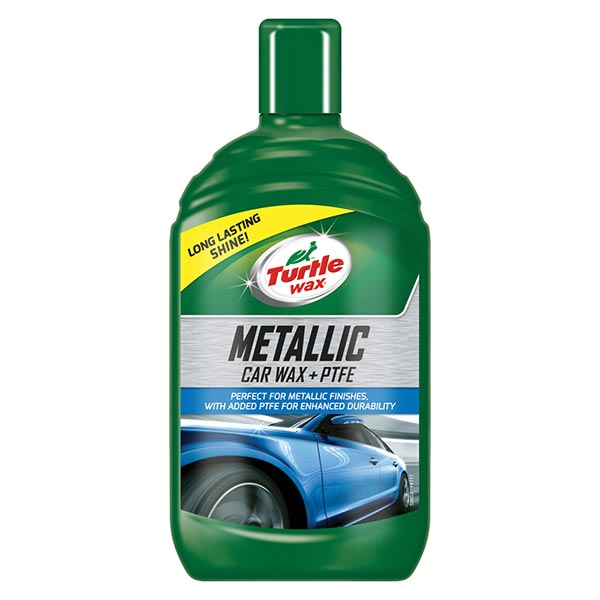 Turtlewax Metallic Car Wax +PTFE 500ml