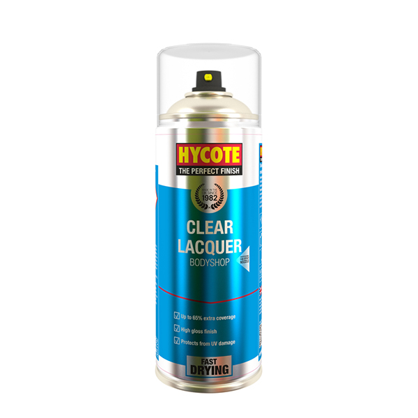 400ML CLEAR LACQUER BODY SHOP HYCOTE