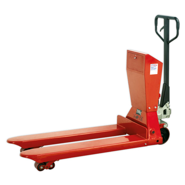 Sealey PT1150SC Pallet Truck 2000kg 1150 x 570mm with Scales