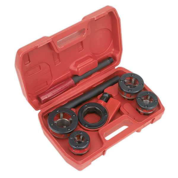 "Sealey PTK991 Pipe Threading Kit 1/2"" - 1-1/4""BSPT"