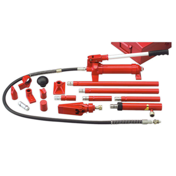 Sealey RE97/4 Hydraulic Body Repair Kit 4ton Snap Type