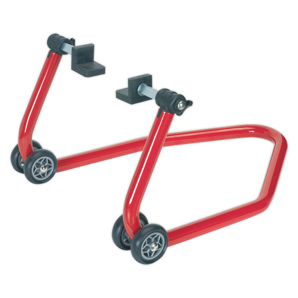 Sealey RPS1 Universal Rear Wheel Stand with Rubber Supports