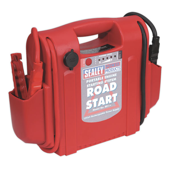 Sealey RS1 RoadStart Emergency Jump Starter 12V 1000 Peak Amps