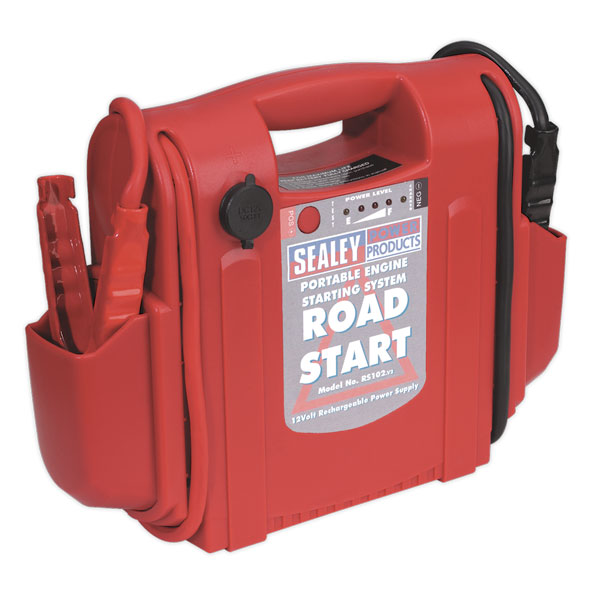 Sealey RS102 RoadStart? Emergency Jump Starter 12V 1600 Peak Amps