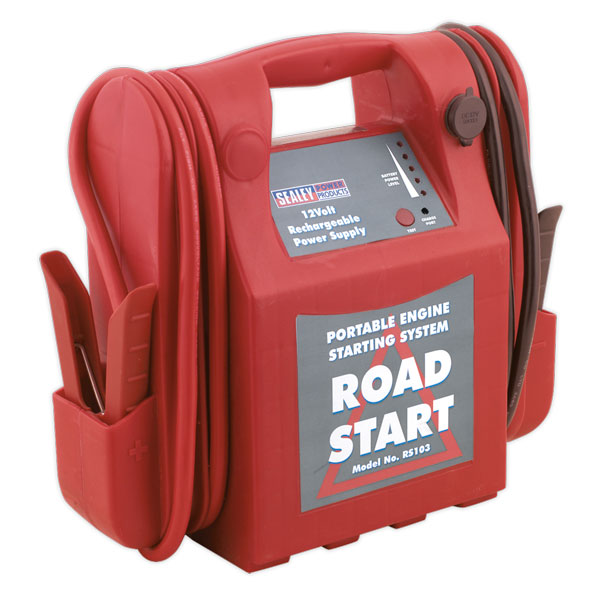Sealey RS103 RoadStart Emergency Power Pack 12V 3200 Peak Amps