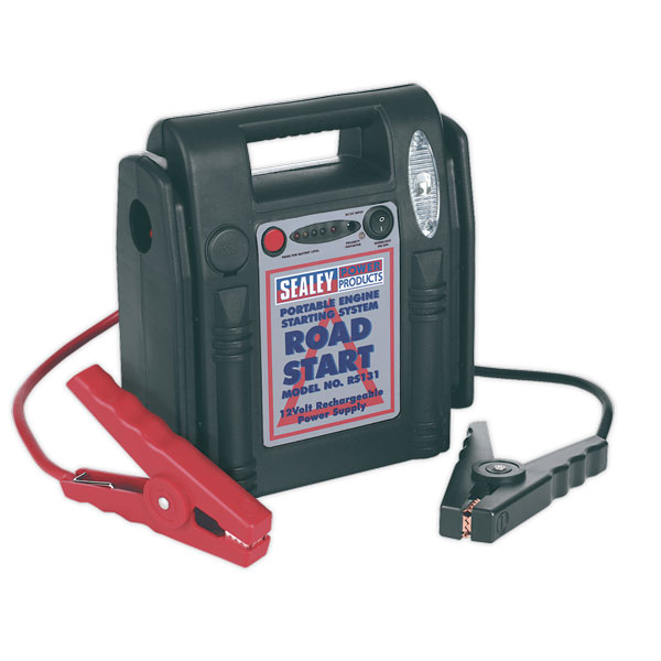Sealey RS131 RoadStart? Emergency Jump Starter 12V 750 Peak Amps