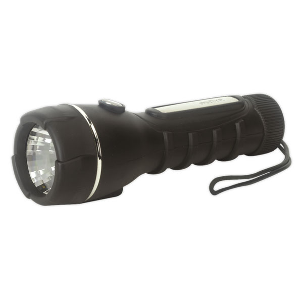 Sealey RT207 Rubber Torch 2 x D Cell