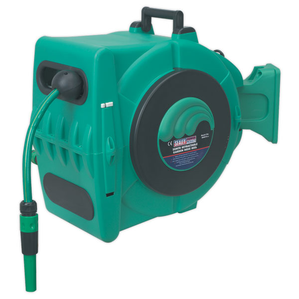 Sealey RWH15 Retractable Garden Hose Reel 20mtr