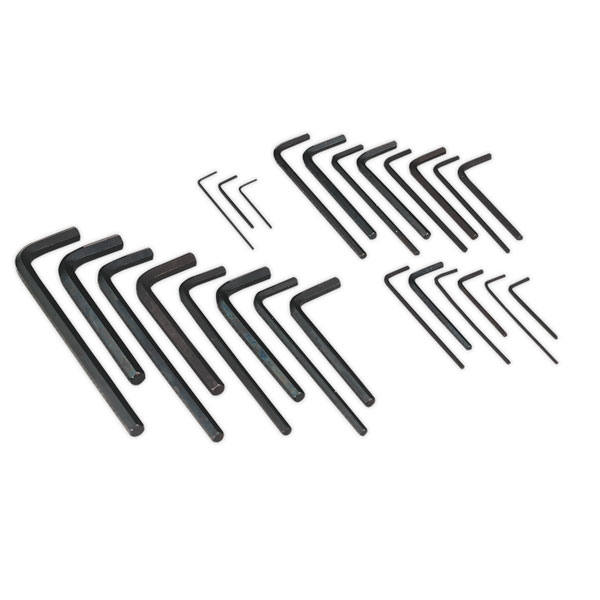 Siegen S0465 Hex Key Set 25pc