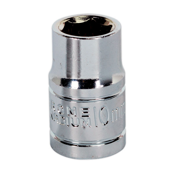 "Siegen S0577 WallDrive Socket 10mm 3/8""Sq Drive"
