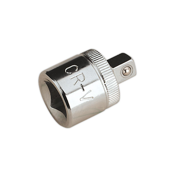 "Sealey S38F-14M Adaptor 3/8""Sq Drive Female to 1/4""Sq Drive Male"