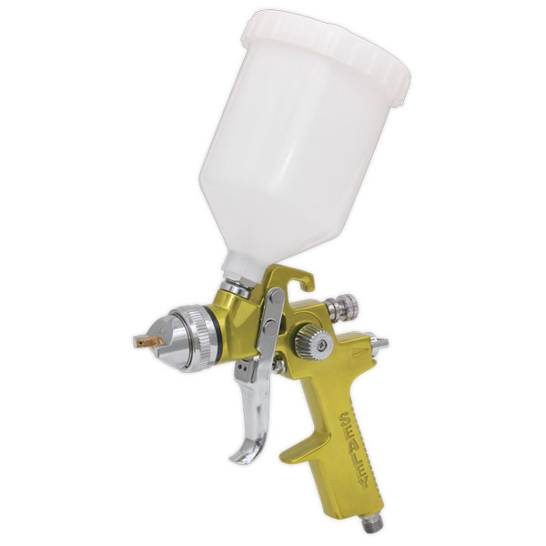 Sealey S701G Spray Gun Professional GOLD Series Gravity Feed 1.4mm Set-Up