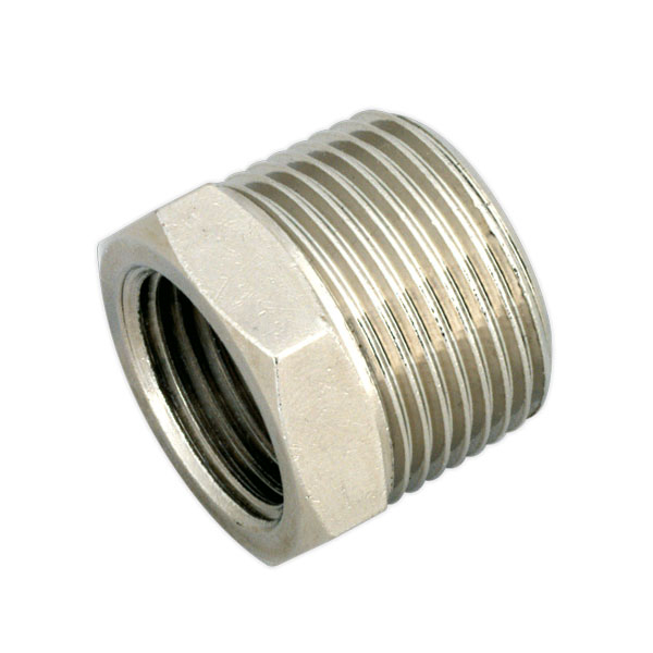 "Sealey SA1/3412F Nipple 3/4""BSPT Male to 1/2""BSP Female"