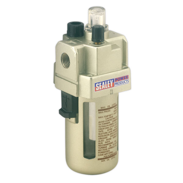 Sealey SA106L Air Lubricator Max Air Flow 60cfm