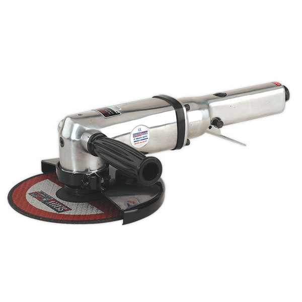 Sealey SA151 Air Angle Grinder 180mm Heavy-Duty