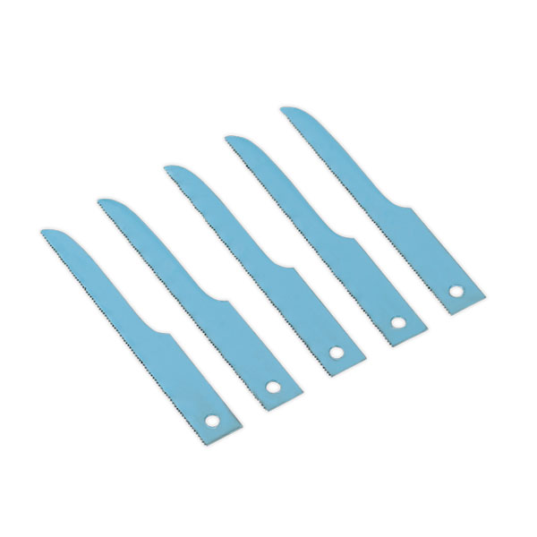 Sealey SA34/B14 Air Saw Blade 14tpi Pack of 5