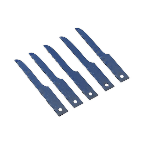 Sealey SA34/B24 Air Saw Blade 24tpi Pack of 5