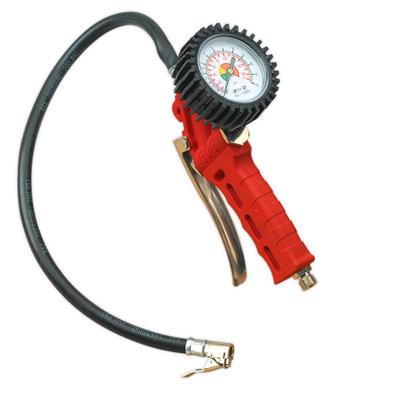 Sealey SA9302 Tyre Inflator with Clip-On Connector