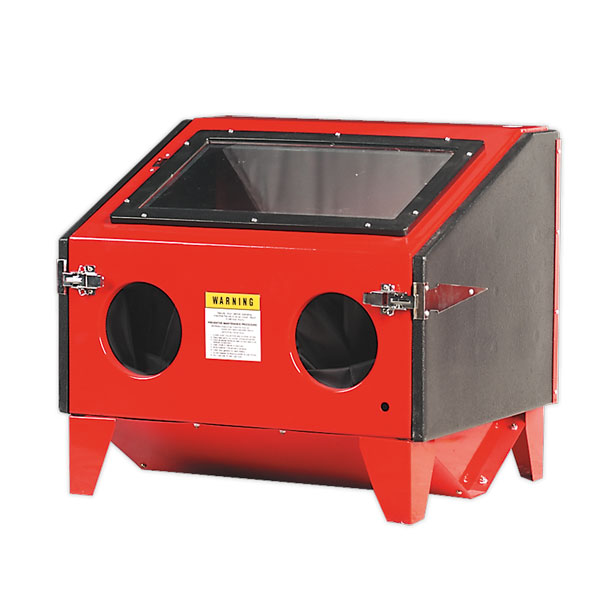 Sealey SB970 Shot Blasting Cabinet Double Access 690 x 575 x 620mm