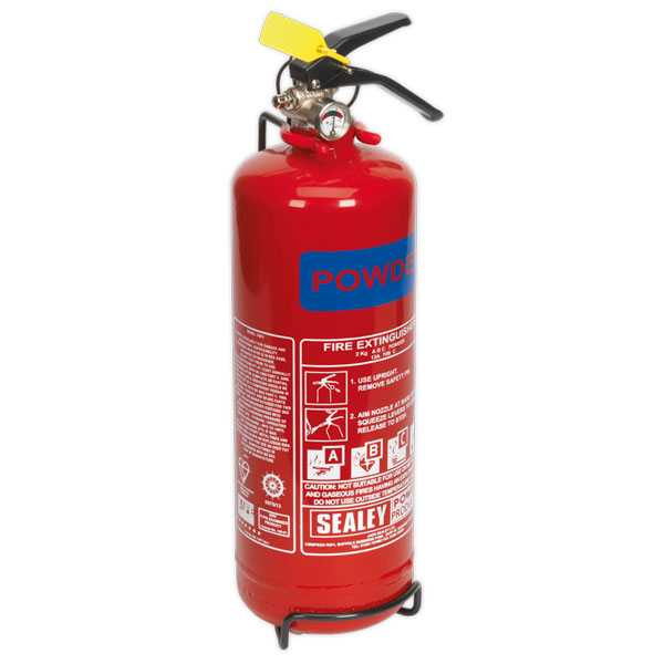 Sealey SDPE02 2kg Dry Powder Fire Extinguisher