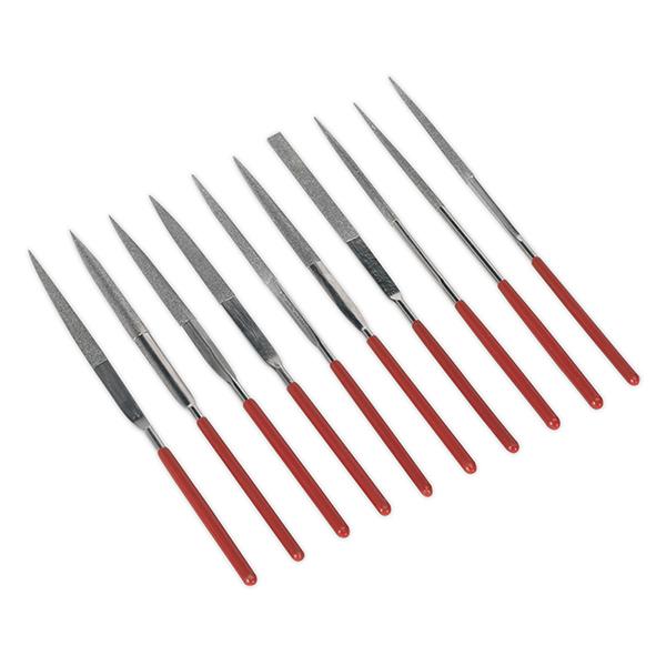 Sealey AK577 Diamond Needle File Set 10pc