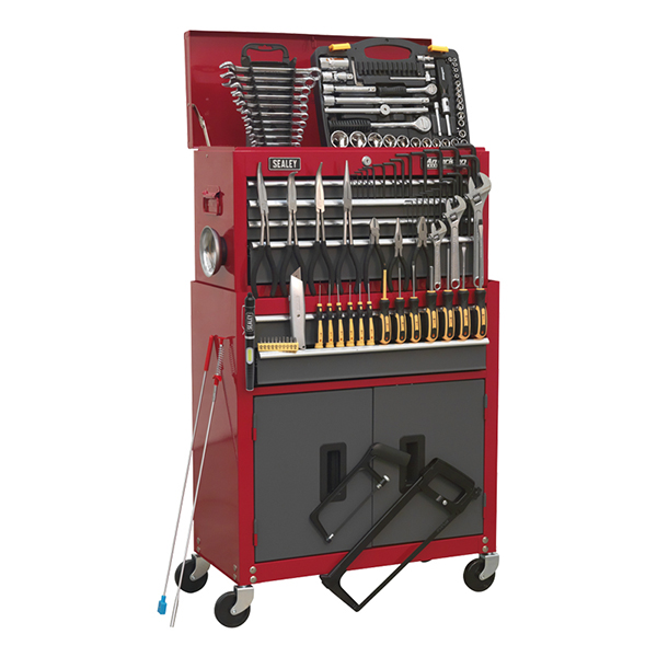 Sealey 6 Drawer Combination Tool Chest with 128pc Tools