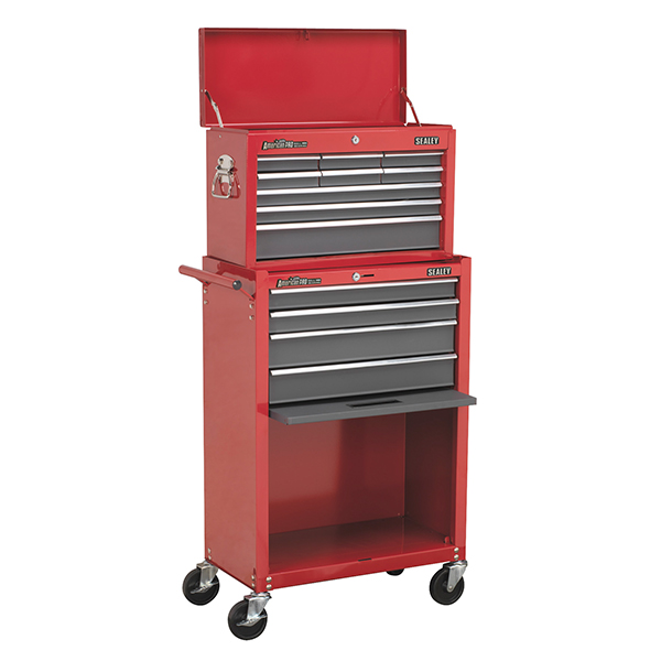 Sealey 13 Drawer Topchest & Rollcab Combination