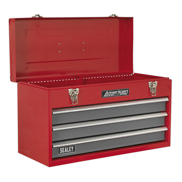 Sealey Topchest 3 Drawer Portable with Ball Bearing Runners