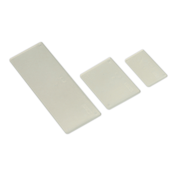 Sealey APDC02 Drawer Divider Mixed Sizes Pack of 15