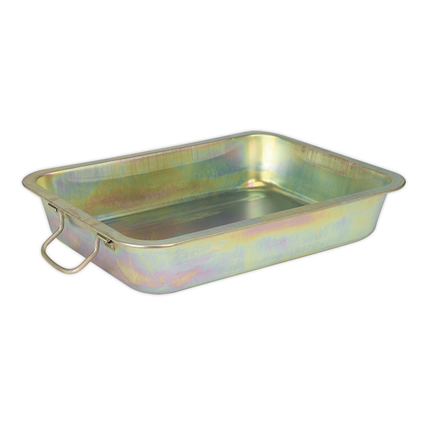 Sealey DRPM2 Metal Drain Pan 12ltr