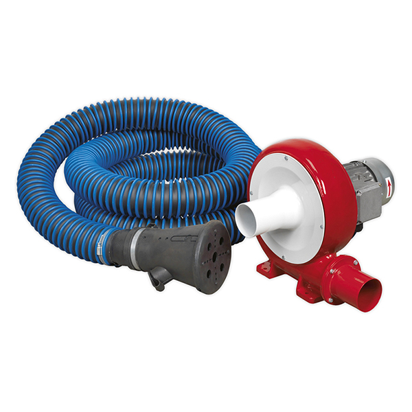 Sealey EFS101 Exhaust Fume Extraction System 230V - 370W - Single Duct