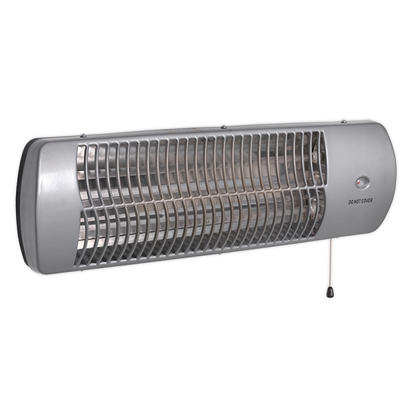 Sealey Infrared Quartz Heater 1500W/230V Wall Mounted