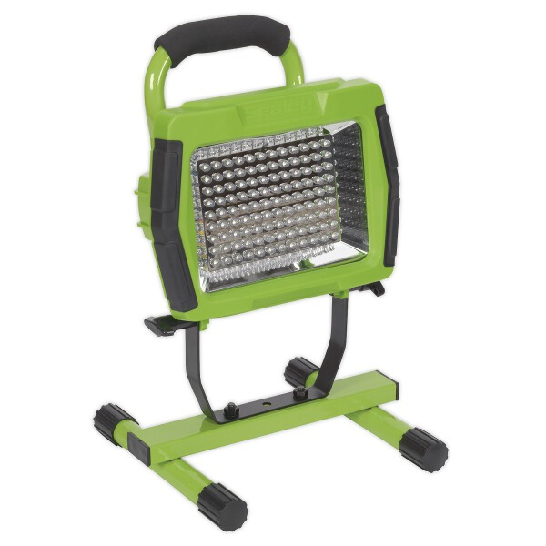 Sealey LED108C Floodlight Portable Rechargeable 108 LED Lithium-ion - Green