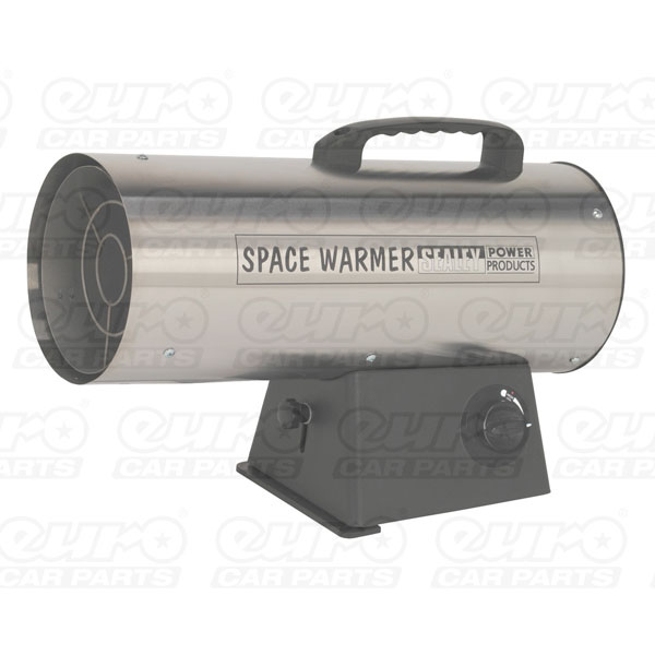 Sealey Space Warmer Propane Heater 42,000Btu/hr - Stainless Steel