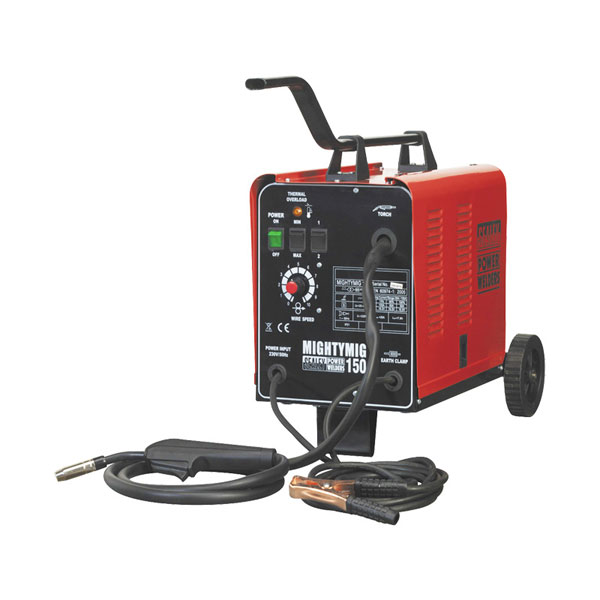 Sealey Gas/No-Gas MIG Welder 150Amp 230V
