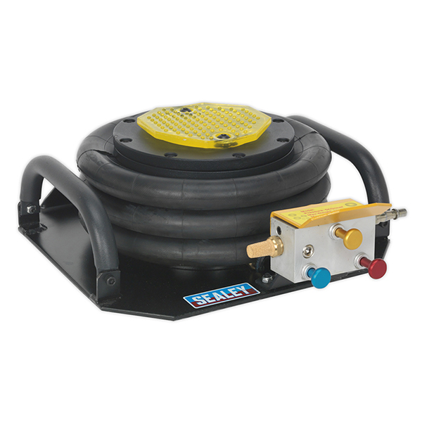 Sealey PAFJ3S Premier Air Operated Fast Jack 3tonne Three Stage
