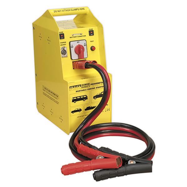 Sealey POWERSTART900 PowerStart Emergency Jump Starter 900hp Start 12/24V