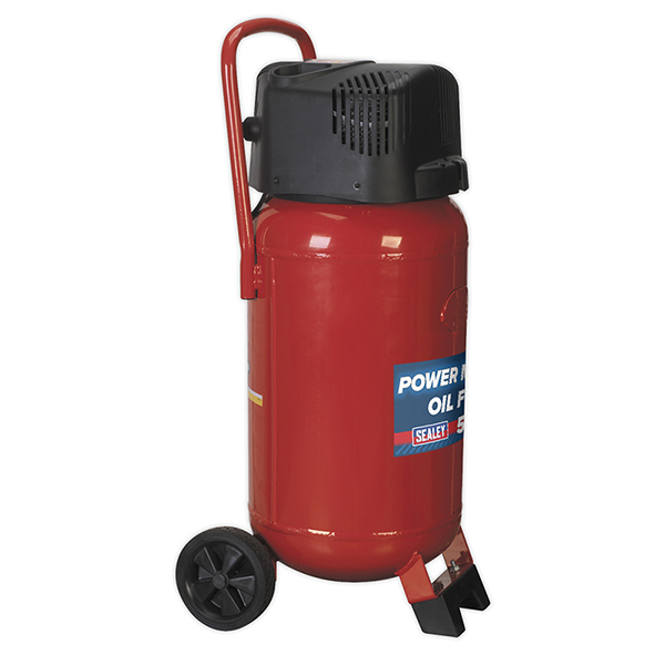 Sealey SAC05020 Compressor 50ltr Belt Drive 2hp Oil Free