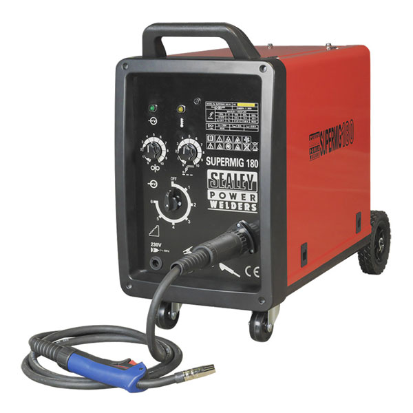 Sealey SUPERMIG180 Professional MIG Welder 180Amp 230V with Binzel? Euro Torch