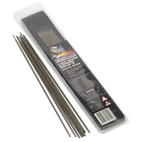 Sealey WE1020 Welding Electrode 2 x 300mm Pack of 10
