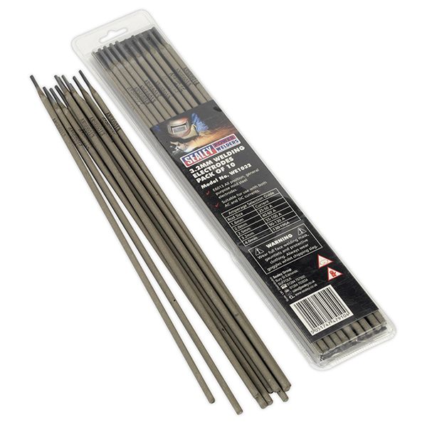 Sealey WE1032 Welding Electrode ?3.2 x 350mm Pack of 10