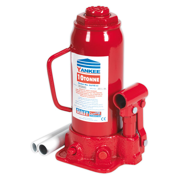 Sealey SJ10 Bottle Jack Yankee 10ton