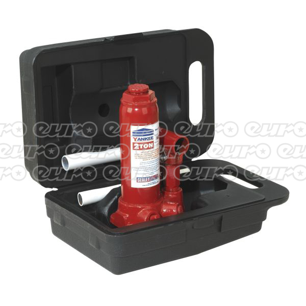 Sealey SJ2BMC Bottle Jack with Carry-Case Yankee 2ton