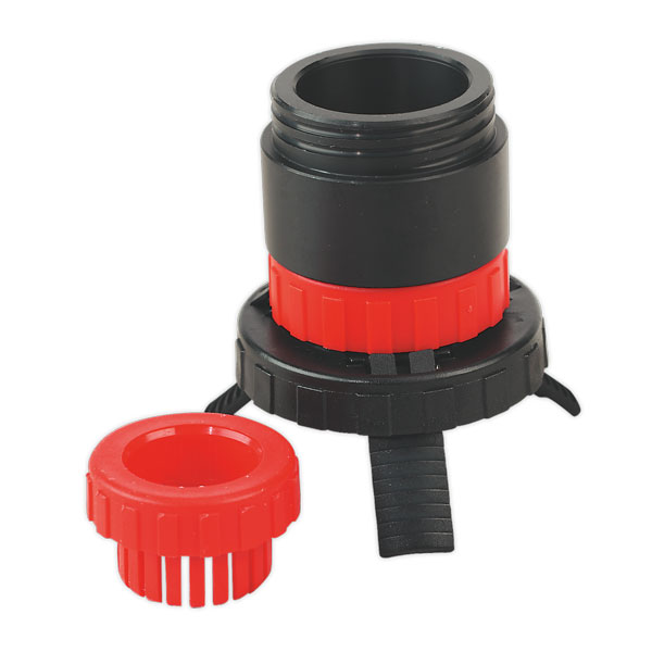 Sealey SOLV/SFX Universal Drum Adaptor fits SOLV/SF to Plastic Pouring Spouts