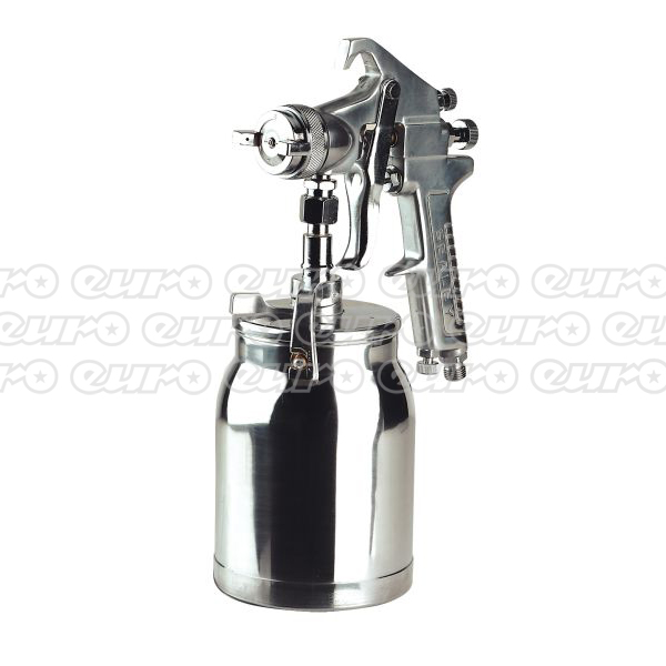 Sealey SSG1 Spray Gun Suction Deluxe Professional 1.8mm Set-Up